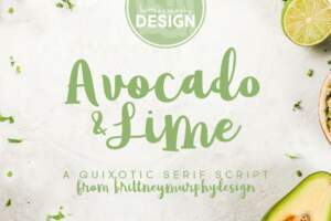 Avocado & Lime Title