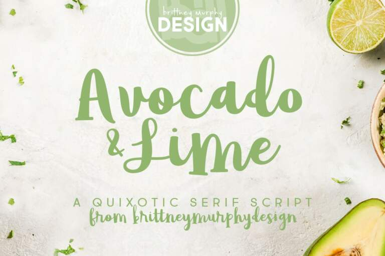 Avocado & Lime Title