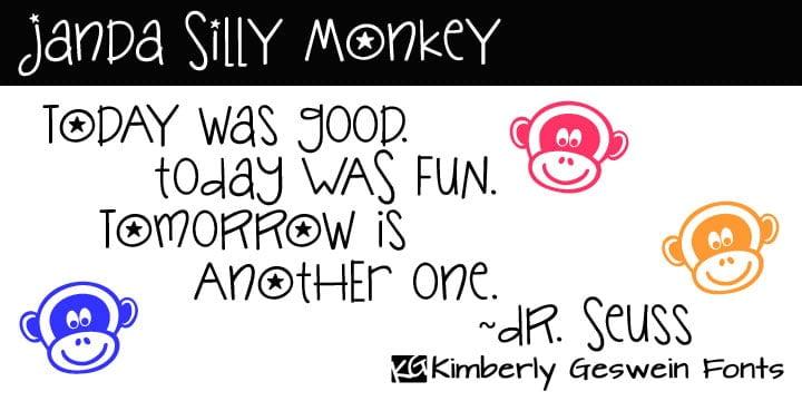Janda Silly Monkey Fp 950x475