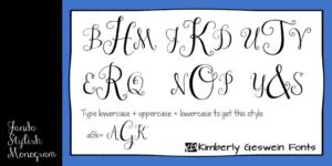 Janda Stylish Monogram Fp 950x475