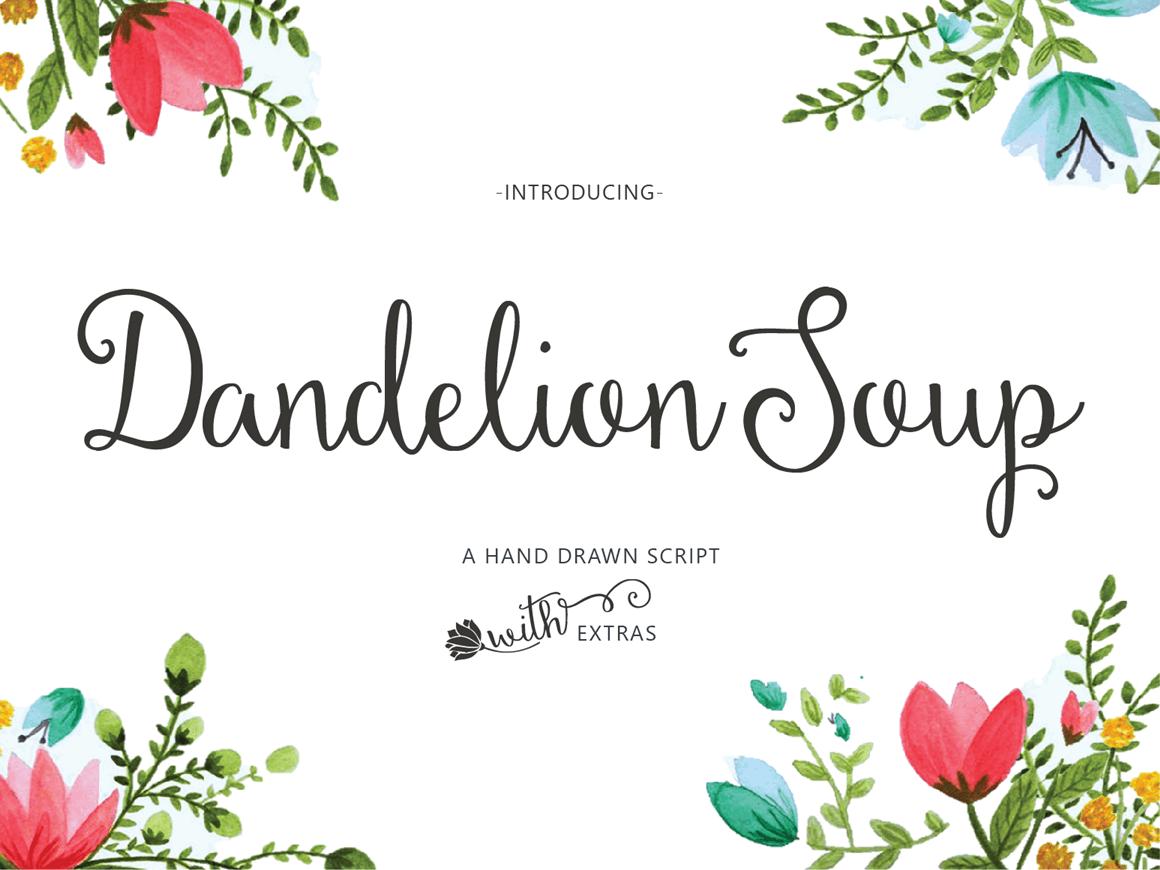Dandelion Soup 1 B