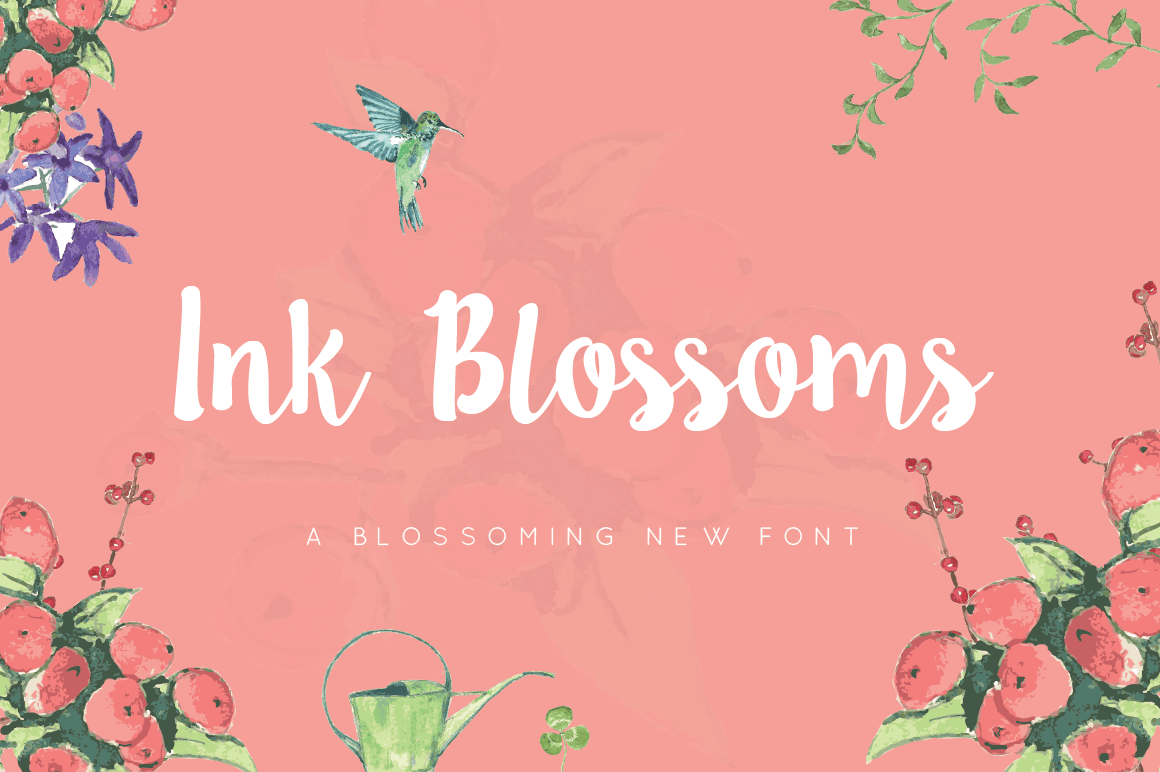 Ink Blossoms Script Emily Spadoni (6)
