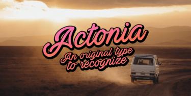Actonia Poster01