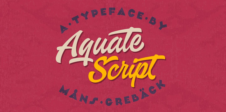 Aquate Poster01