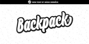 Backpack Poster