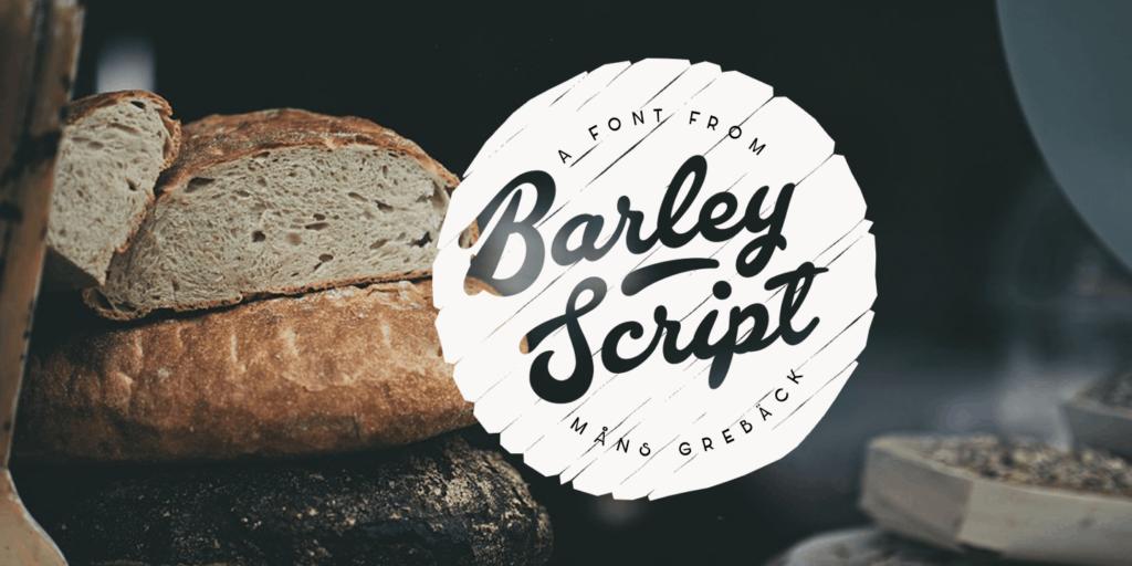 Barley Script Poster01