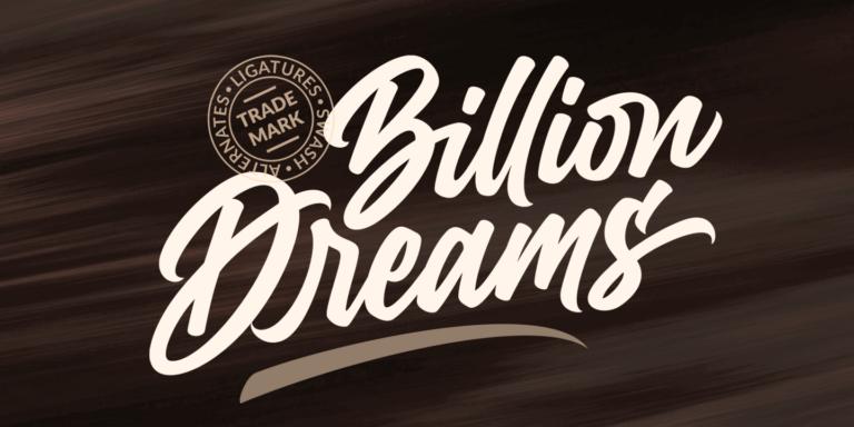 Billion Dream Poster01