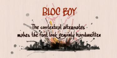 Bloc Boy Poster
