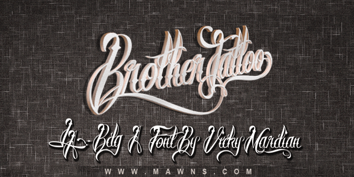 Brother Tattoo Poster