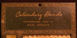 Calendary Hands Poster720