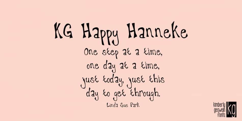 Kg Happy Hanneke
