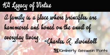 Kg Legacy Of Virtue