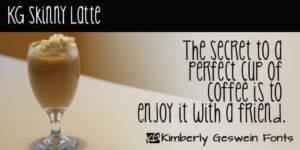 Kg Skinny Latte