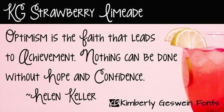Kg Strawberry Limeade