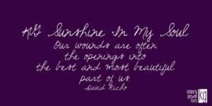 Kg Sunshine In My Soul
