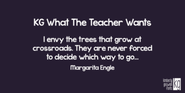 Kg What The Teacher Wants