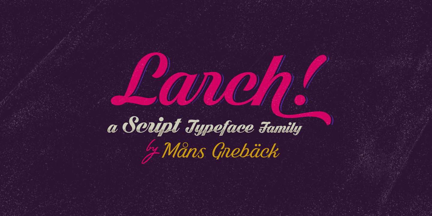 Larch Poster01