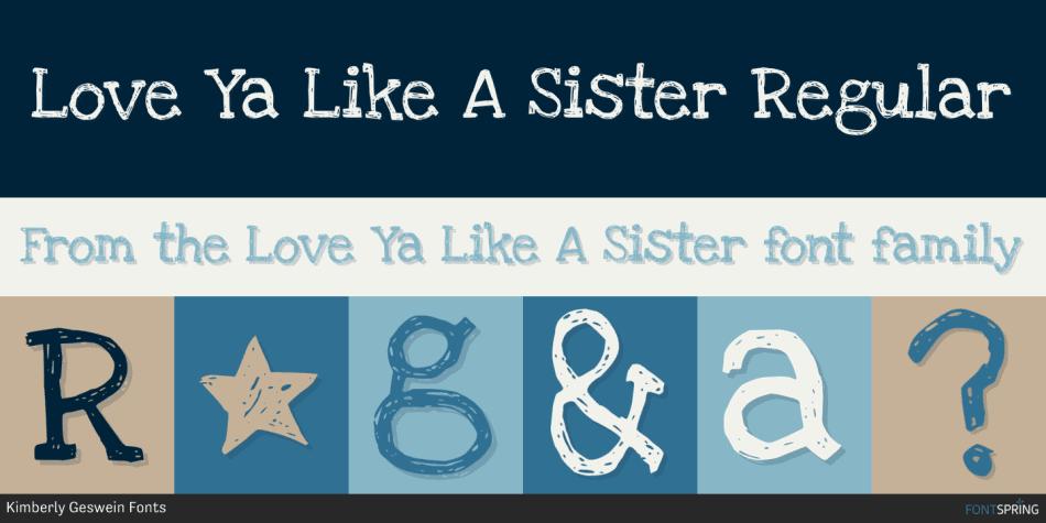Love Ya Like A Sister Regular Fp 950x475