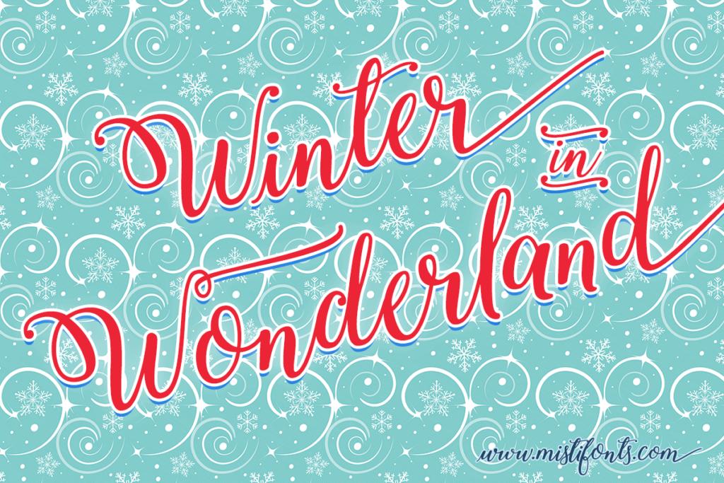 Winter Calligraphy 1