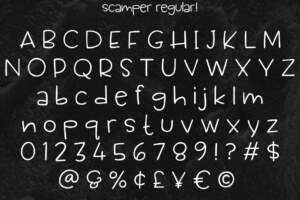 Scamper Letters