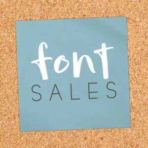 Font Sales Square