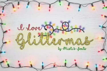 I Love Glittermas