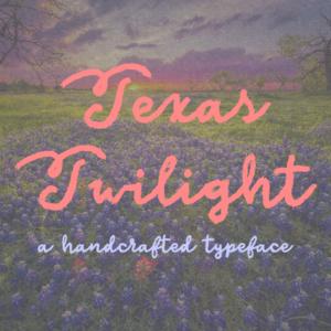 Texas Twilight Flag
