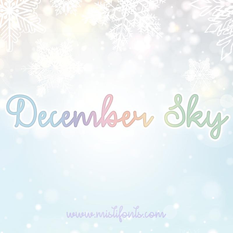 December Sky Flag