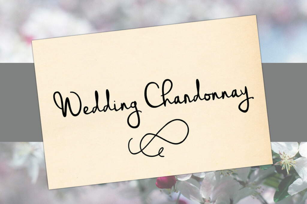 Wedding Chardonnay