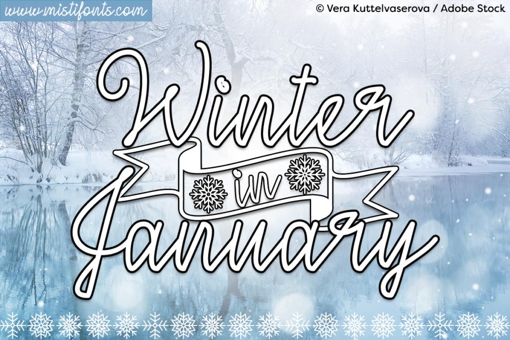 Winter In January