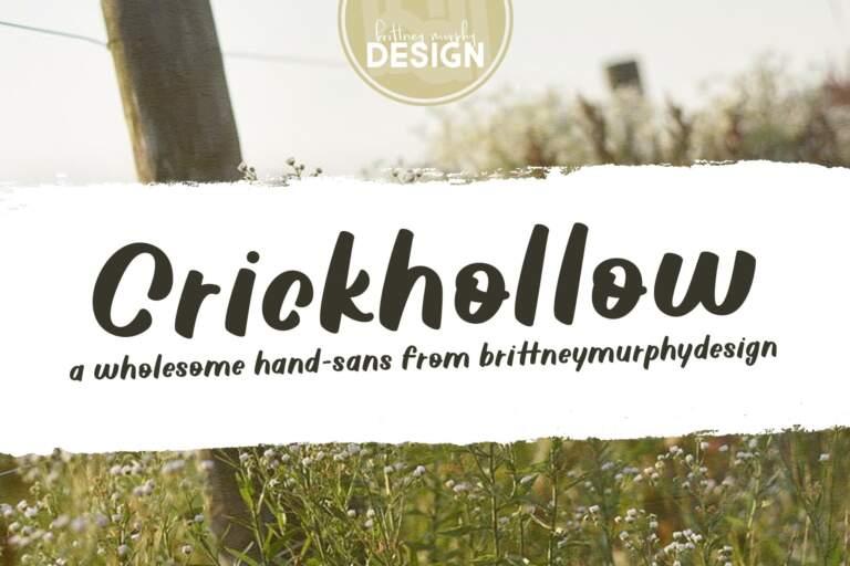 Crickhollow Regular Title