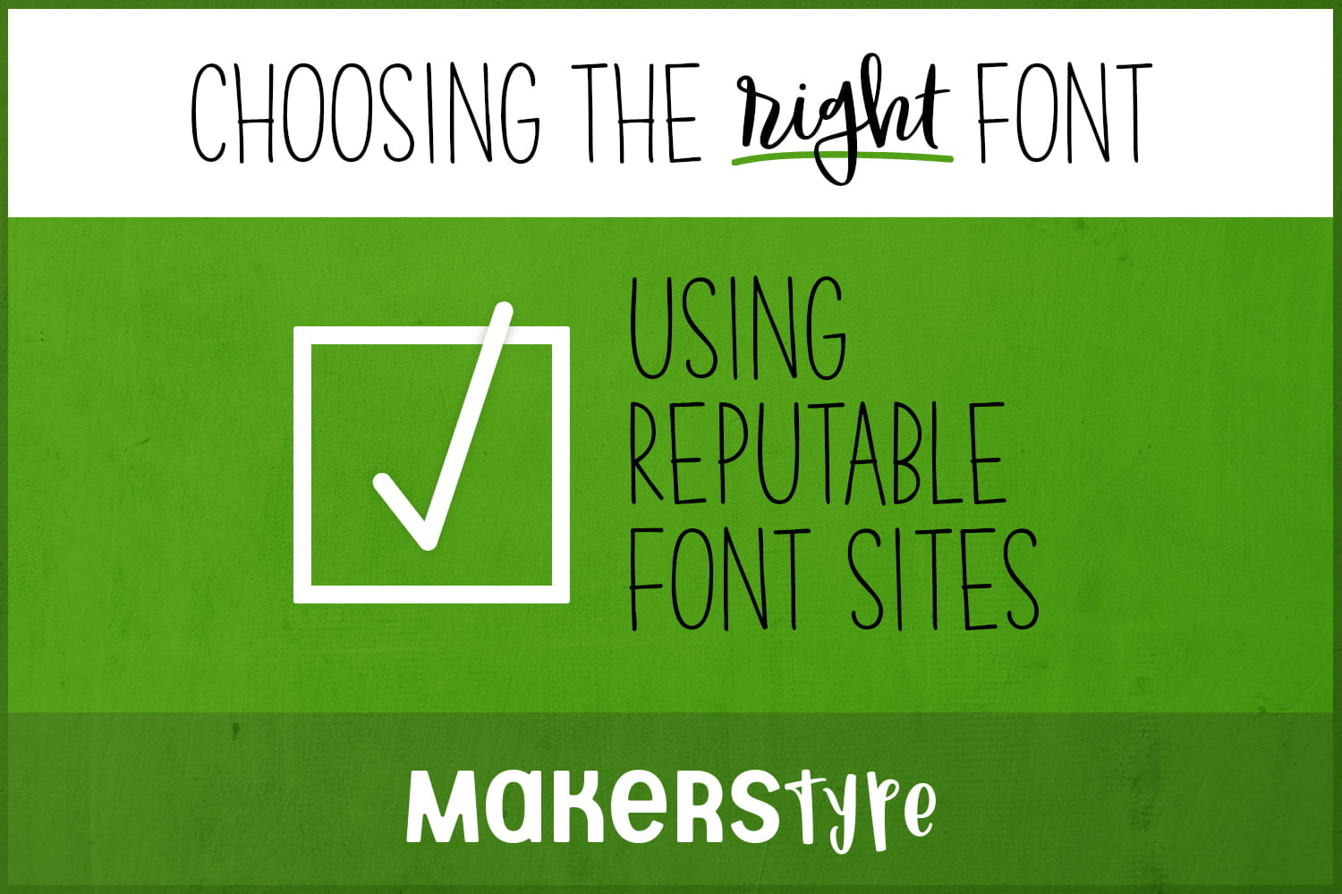 Reputable Font Sites