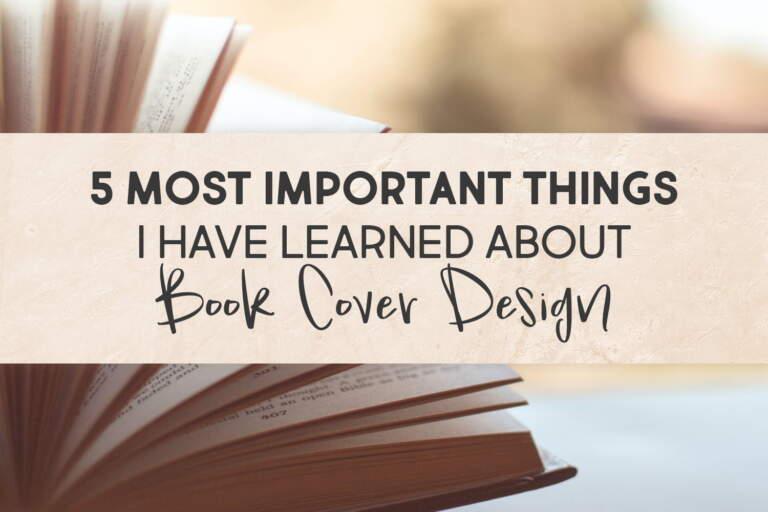 5 Things Book Cover Design Regular