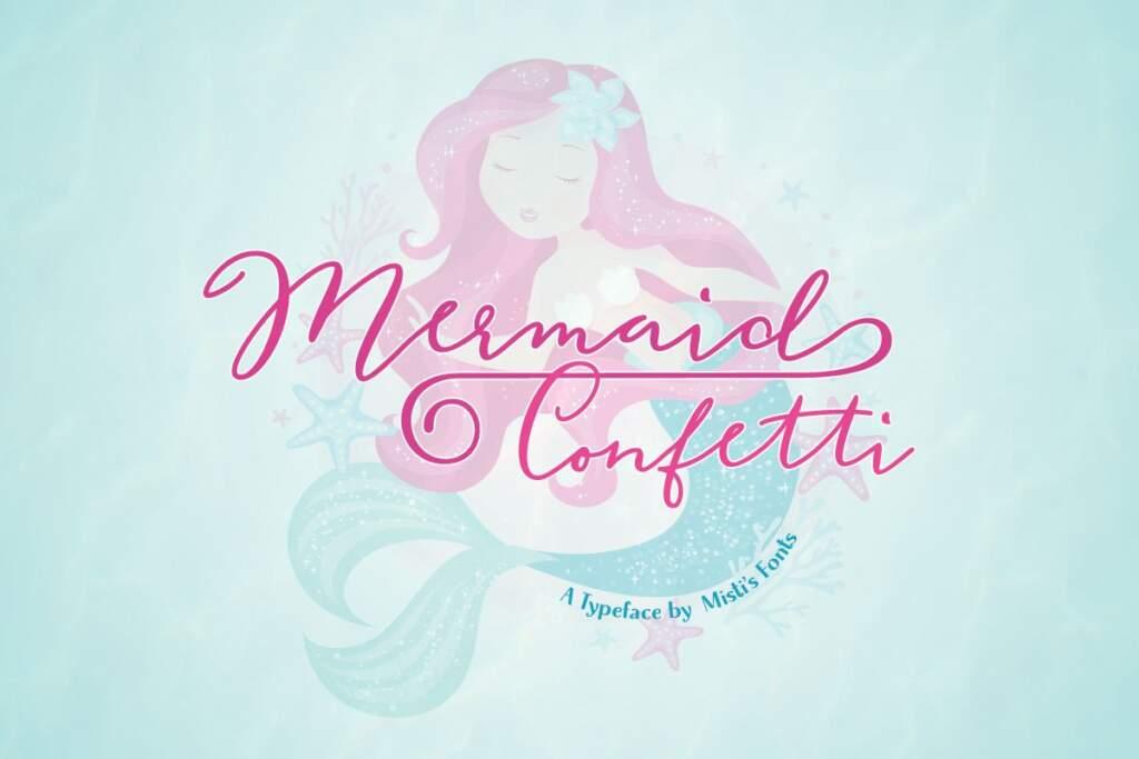 Mermaid Confetti