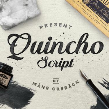 Quincho Script Flag