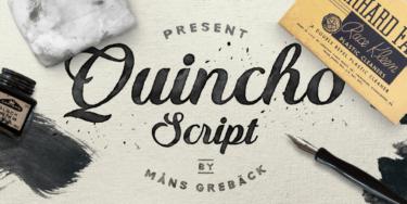 Quincho Script Poster01