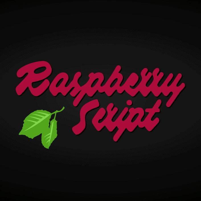 Raspberry Script Flag