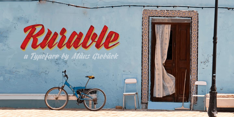 Rurable Poster