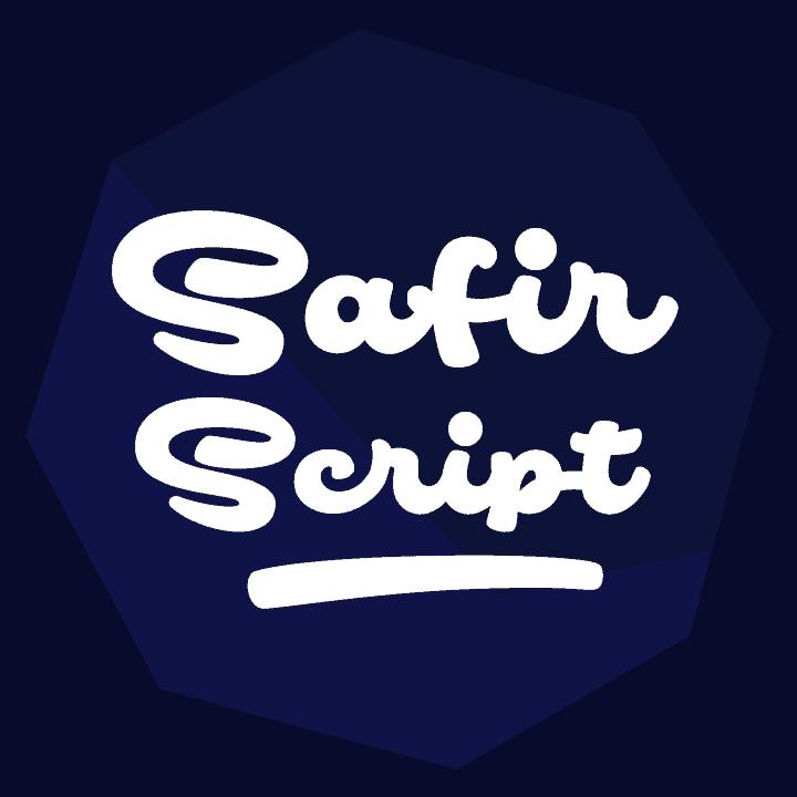 Safir Script Flag