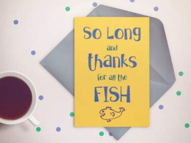 Gallimaufry Greeting Card