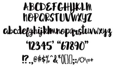 Sprightly Alphabet
