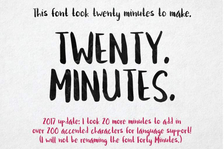 Twenty Minutes Hero2