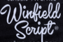 Winfield Script Flag