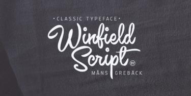 Winfield Script Poster01