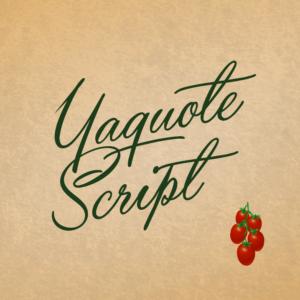 Yaquote Script Flag