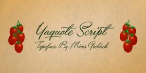Yaquote Script Poster