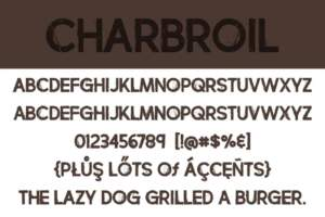 Charbroil Letters