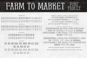Farm To Market Ff Letters