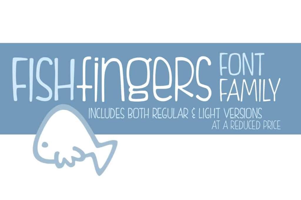Fishfingers Font Family