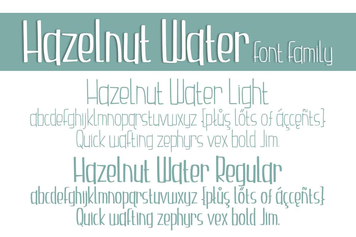 Letters Font Family
